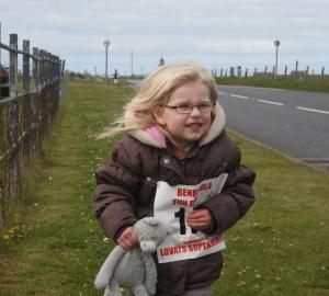 Fun Run participant